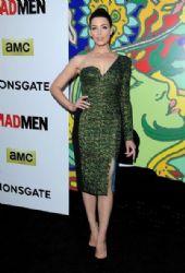 Jessica Paré wears Antonio Berardi - 'Mad Men' Season 7 Premiere Party