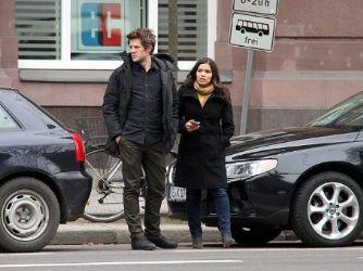 America Ferrera and Ryan Piers Williams: Berlin look