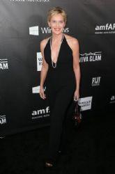 Sharon Stone attends amfAR LA Inspiration Gala