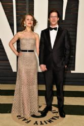 Joanna Newsom and Andy Samberg: 2015 Vanity Fair Oscar Party