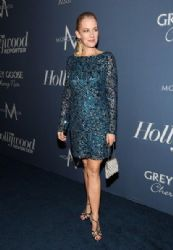 Penelope Ann Miller arrives at The Hollywood Reporter's