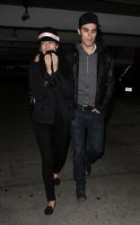 Paul Wesley with Torrey DeVitto: hit up the ArcLight Hollywood Cinemas