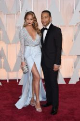 Christine Teigen and John Legend: 87th Annual Academy Awards 2015