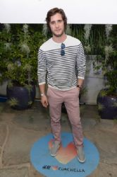 Diego Boneta: Official H&M Loves Coachella Party At the Parker Palm Springs