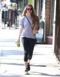 Amanda Seyfried: meets a small group of friends for lunch in Los Feliz