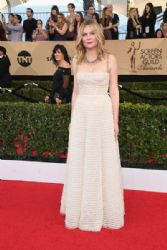 Kirsten Dunst wears Christian Dior Dress : 23rd Annual Screen Actors Guild Awards