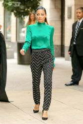 Nicole Richie Stops by The View In NYC