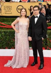 Andy Samberg and Joanna Newsom: 21st Annual Screen Actors Guild Awards - Arrivals