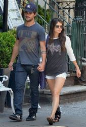 Taylor Lautner And Marie Avgeropoulos Get Close In Soho