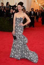 Jessica Paré: Red Carpet Arrivals at the Met Gala