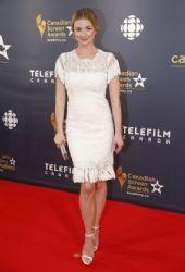 Emily VanCamp – 2016 Canadian Screen Awards in Toronto