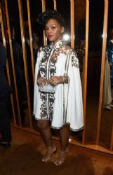 Janelle Monáe wears Tadashi - The 2015 CFDA Awards
