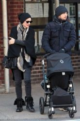 Marion Cotillard & Guillaume Canet Out in NYC