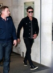 Zac Efron arrives at the BBC Radio One Studios
