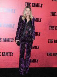 Michelle Pfeiffer wears Roberto Cavalli -
