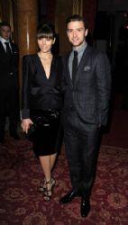 Jessica Biel,Justin Timberlake: Tom Ford show