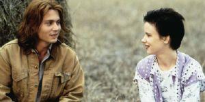 Juliette Lewis and Johnny Depp