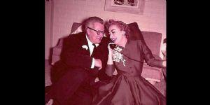 Joan Crawford and Alfred Steele