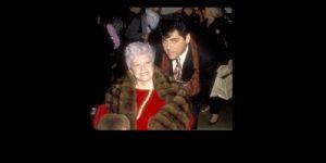 Mark Harris and Martha Raye