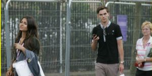 Victoria Justice and Nicholas Hoult