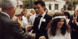 Johnny Depp and Lori anne Allison