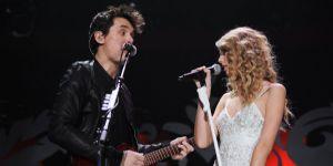 Taylor Swift and John Mayer