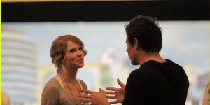 Cory Monteith and Taylor Swift