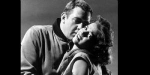 Natalie Wood and Raymond Burr
