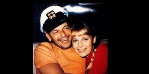 Frank Sinatra and Mia Farrow