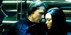 Tom Cruise and Thandie Newton