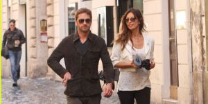 Madalina Ghenea and Gerard Butler