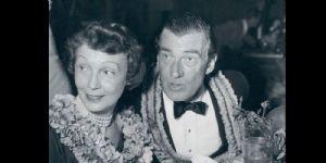 Walter Pidgeon and Ruth Walker