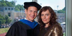 Patrick Wilson and Dagmara Dominczyk