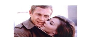 Natalie Wood and Steve McQueen