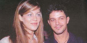 Alejandro Sanz and Jaidy Michel