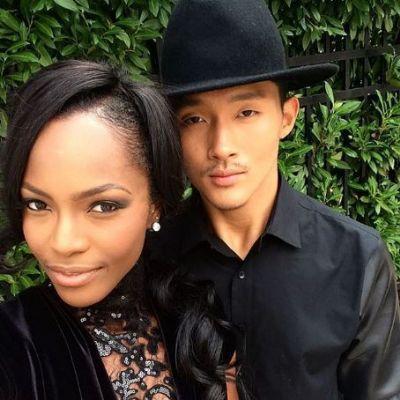 Justin Kim and Mamé Adjei