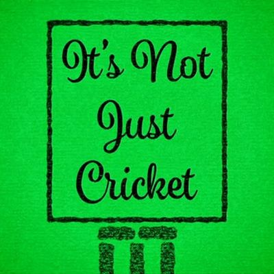 It's Not Just Cricket