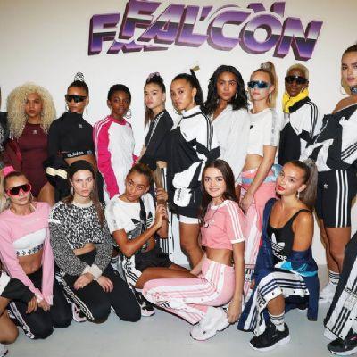 JD, adidas Originals and Hailey Baldwin present Falcon, a '90s extravaganza