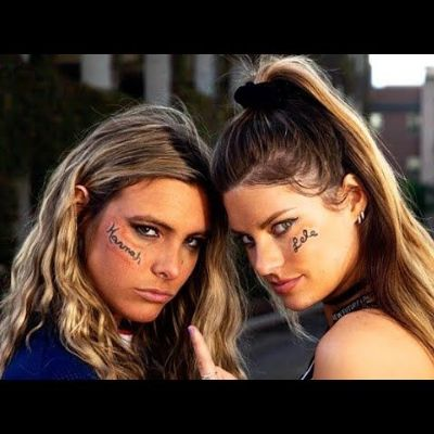 Lele Pons and Hannah Stocking