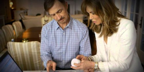 Jaclyn Smith and Dr. Brad Allen