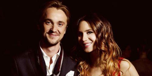 Tom Felton and Jade