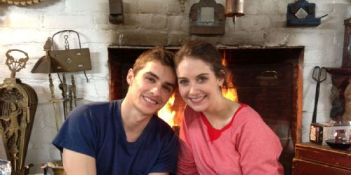 how long has dave franco and alison brie been dating a month