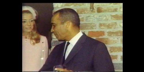Inger Stevens and Ike Jones