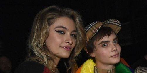 Paris Jackson and Cara Delevingne