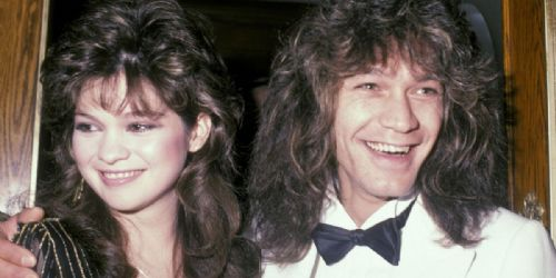Valerie Bertinelli and Eddie Van Halen