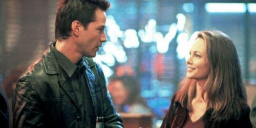 Diane Lane and Keanu Reeves