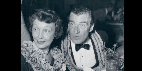 Walter Pidgeon and Ruth Walker