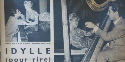 Brigitte Bardot and Gilbert Bécaud