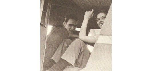 Howard Hughes and Katharine Hepburn