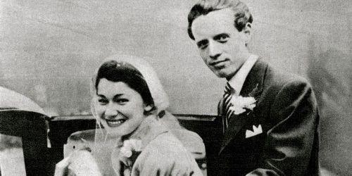 Patrick McGoohan and Joan Drummond